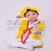 弟子规六一儿童古装汉服 读书郎三字经表演出服装 国学服装 书童演出服装