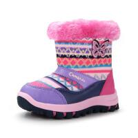 camkids小骆驼 儿童雪地靴 女童靴子 小童鞋 加厚毛绒内里备足户外583204