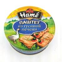 鹅肝酱罐头 250g (俄罗斯进口) 无添加剂 防腐剂 高温密封装 Паштет из гусиной печени