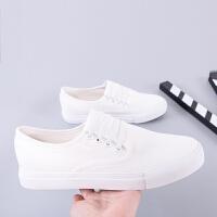 匡王2017夏季男鞋韩版休闲鞋一脚蹬懒人鞋帆布鞋男白色鞋子小白鞋单鞋