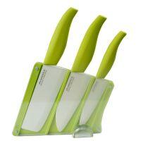 美帝亚陶瓷刀套装 厨房刀具四件套6寸日本菜刀水果刀刨刀礼盒