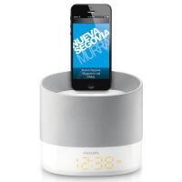 飞利浦/philips苹果底座音箱 迷你便携式手机音响 DS1400 圆柱形设计 为手机充电