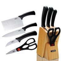 【包邮】苏泊尔专卖店套装刀具5件套T0924-K 不锈钢切片刀削皮刀菜刀厨房套刀
