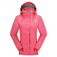 TheNorthFace/北面 2UEI 女式防水透气舒适耐久冲锋衣 户外连帽运动防风外套