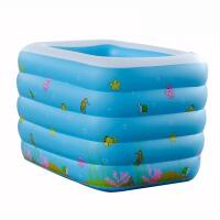 充气水池儿童游泳池加厚大洗澡盆充气泳池婴儿戏水池婴儿游泳池儿童戏水池