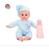乐吉儿我家宝贝洋布芭比娃娃套装礼盒2014可爱女孩玩具