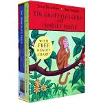 Gruffalo's Child and Monkey Puzzle (boardbook boxset) 《咕噜牛小妞妞》和《小猴子找妈妈》卡板故事书套装 9780330531979