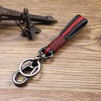 时尚潮流钥匙扣送女友送闺蜜送好友钥匙挂件男腰挂钥匙链创意个性钥匙圈 黑配红 均码