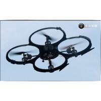 优迪U818A 飞碟 四轴飞行器 航模遥控UFO 玩具遥控直升飞机