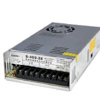 伊莱科 开关电源S-400-24 DC24V工业电源 监控安防 大功率400W