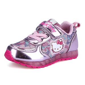 hellokitty童鞋女童运动鞋2016春季新款儿童运动鞋网面休闲跑步鞋