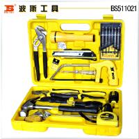 波斯工具 21件家用组套工具 水泵钳 活扳手 螺丝批 BS511021