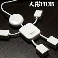小人形USB扩展HUB/一拖四分线器/可爱小人usb集线器