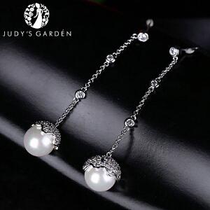 【茱蒂的花园】宫廷baby同款MONACO时尚风格APM耳环耳钉耳饰耳坠耳线贝珠仿珍珠水晶钻饰品首饰女款
