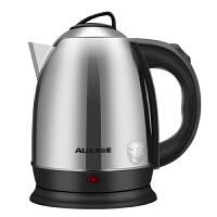 AUX/奥克斯电水壶食品级加厚304不锈钢烧水壶全不锈钢电热水壶茶壶烧水壶煮水壶泡茶壶2L大容量