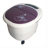 朗悦LY-820一键启动足底按摩器足浴器加热洗脚盆加热活血气血循环机足底脚底脚部按摩按压