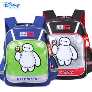Disney/迪士尼 大白小学生1-3年级儿童卡通双肩减负书包IB0018