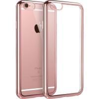 【当当自营】 ESR亿色 iPhone6s Plus/6 Plus手机壳 电镀边框软壳 初色晶耀系列 玫瑰金