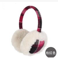 潮秋冬天耳包保暖时尚女士秋冬季韩版耳套耳罩毛绒 保暖女士耳捂冬天耳套
