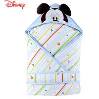 迪士尼宝宝卡通大联盟梭织加厚经典夹棉抱被 婴儿抱被  新生儿抱被秋冬款