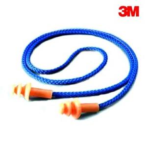 3M 1270圣诞树型带线1付(隔音耳塞 游泳耳塞)防噪音 防水