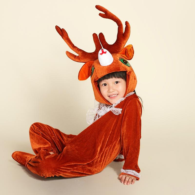 【调皮包包礼服/演出服】圣诞六一儿童表演动物服装