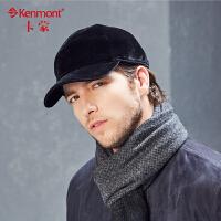 男士帽子冬季中老年加厚户外保暖冬帽仿羊绒全棉棒球帽防冻护耳帽2501