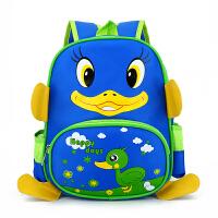 自然鱼幼儿园书包3-6岁儿童男女双肩背包可爱小鸭子大班中班小班