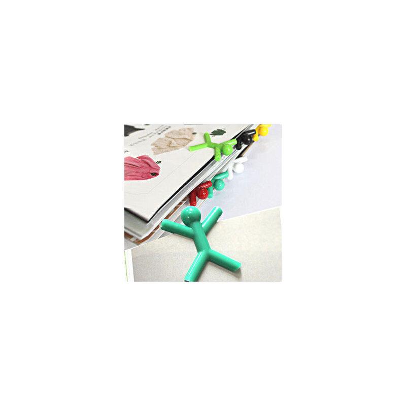 创意小人书签/读书的时尚元素(6枚装) 实用小礼品 可爱生活小商品