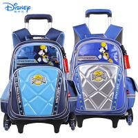 Disney/迪士尼 米奇儿童小学生卡通双肩书包三轮可爬楼拉杆书包MB0507