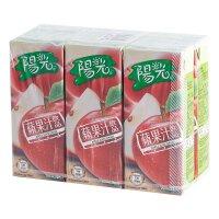 阳光 苹果汁饮品 375ml*6盒(组) 香港进口