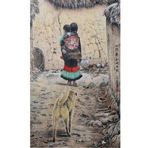 王立芳  小阿依和她的狗