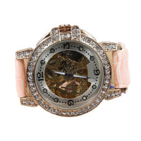 全自动机械表镂空女士手表时尚时装女表防水腕表