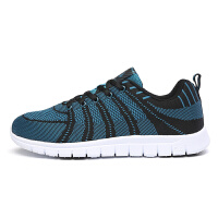 金帅威 新款飞织休闲鞋简约透气舒适跑步鞋男学生运动鞋跑鞋