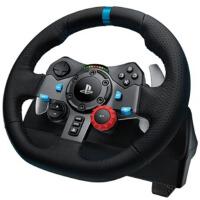 罗技(Logitech)G29 力反馈游戏方向盘 游戏设备 仿真*飞车PS3/4赛车900度模拟驾驶