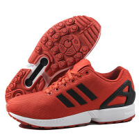adidas阿迪达斯三叶草男鞋低帮ZXFLUX板鞋休闲鞋运动鞋S31521