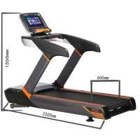 彩屏商用健身交流电机跑步机房事业单位健身健身跑步机