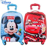 Disney/迪士尼 冰雪奇缘公主儿童卡通旅行箱儿童行李箱学生万向轮拉杆箱SM80847