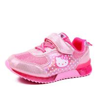HELLO KITTY童鞋女童运动休闲鞋小童网面鞋
