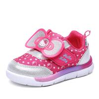 hellokitty童鞋女童运动鞋幼童宝宝鞋休闲鞋儿童透气鞋子