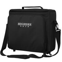 HIGHSEE单间斜跨投影仪包商务办公投影机收纳携带包休闲背包