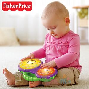 Fisher Price 费雪 洗浴小手鼓 双语