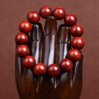 缘饰传说 小叶紫檀佛珠手串15-20mm上乘老料超高密度金丝顺纹男女款木质手链
