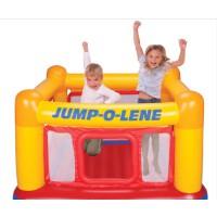 INTEX儿童剧场跳跳乐 蹦蹦床 游乐场 充气玩具 海洋球池