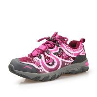 camkids小骆驼童鞋 女童鞋 儿童登山鞋 中童跑鞋冬款新鞋一秒速系965414