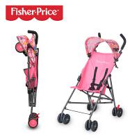 FisherPrice费雪 婴儿推车手推伞车简易折叠超轻便携折叠小孩儿童宝宝避震