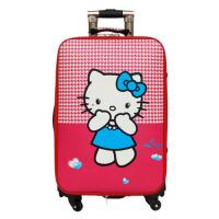 卡通时尚韩版万向轮拉杆箱可爱旅行箱拉杆包包登机箱男女密码登机箱复古皮箱子 旅游用品