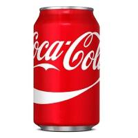 USA美国进口 可口可乐传统口味 Coca Cola 355ml*12罐(整箱装)
