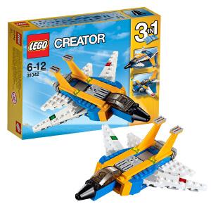 [当当自营]LEGO 乐高 Creator创意百变系列 超级滑翔机 积木拼插儿童益智玩具31042
