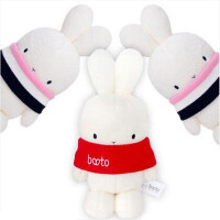 【全店支持礼品卡】正版Aoger/澳捷尔 正版肯德基 booto兔子公仔kfc圣诞啵兔围脖兔毛绒玩具